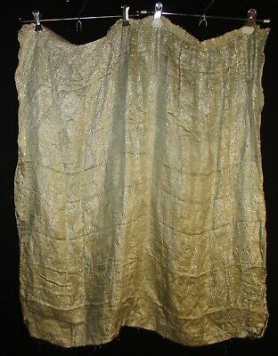 1920's Deco Era Lame Skirt Section