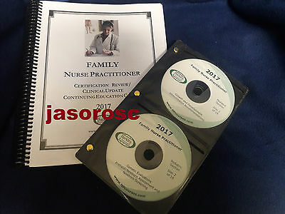 2017 Barkley Family Nurse Practitioner Review Book & CDs AUTHENTIC, Free Ship