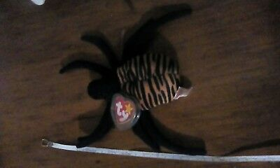 Ty Beanie Baby Spinner the Spider 1996 5th Generation