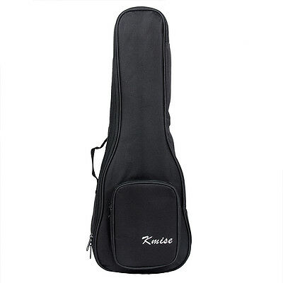 Kmise Acoustic Guitar Ukulele 23 Inch Gig Bag Case and Outer Pocket