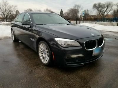 2014 BMW 7-Series 750LI XDRIVE 2014 BMW 750LI M PACKAGE XDRIVE  ALL WHEEL DRIVE