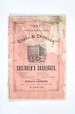 Udell & Crunden Catalog - Spring 1887- Carriages, Wagons, Bicycles, Refrigerator