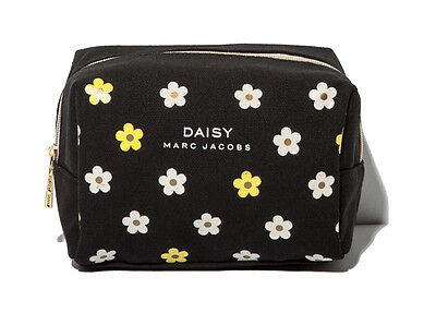 MARC JACOBS Daisy Black Makeup Cosmetics Bag, Brand NEW!!
