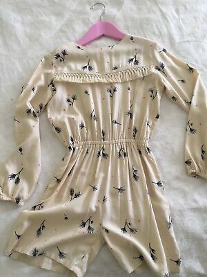 Bella and Lace Girls Playsuit Romper Size 7