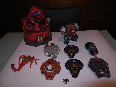 Vintage Bluebird Mighty Max Castle & 7 Playsets