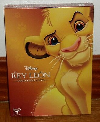 The King Leon The Trilogy Lion King 3 Dvd Disney Sealed New (Unopened)