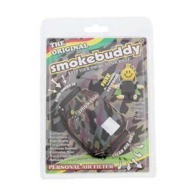 Smoke Buddy Personal Purifier Filter Cleaner Removes Odor Original  Chain  Green