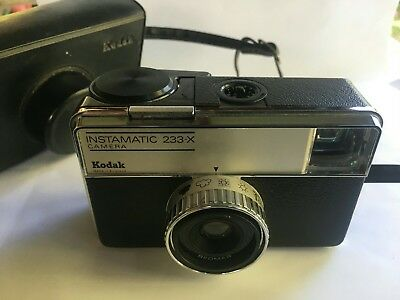kodak Instamatic 233-X with Case