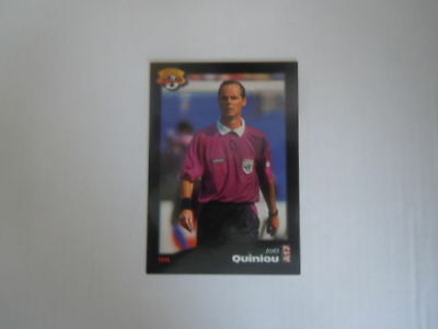 Carte panini - Official Football Cards 1996 - Arbitres - N°A17 - Joël Quiniou