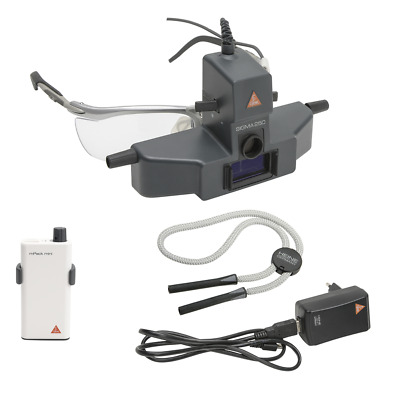HEINE SIGMA 250 M2 Binocular Indirect Ophthalmoscope Kit with mPack mini