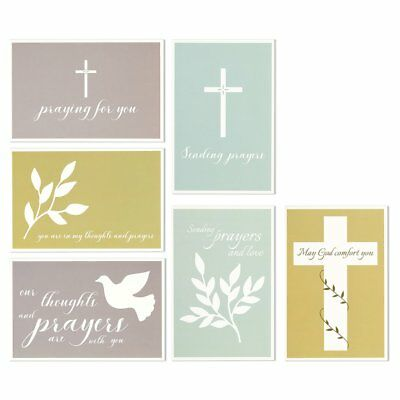 48 pack sympathy greeting cards assortment condolence thinking of