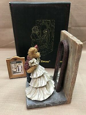 """NIB Boyds Norman Rockwell Saturday Evening Post Collection """"PROM DRESS"""" 1E"""