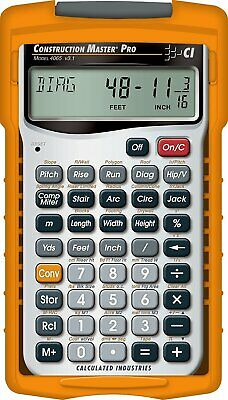 Calculated Industries 4065 Construction Master Pro Advanced Calculator