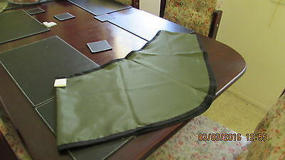 NEW Horses Green  Satin under rug BIBS ( Small Size)