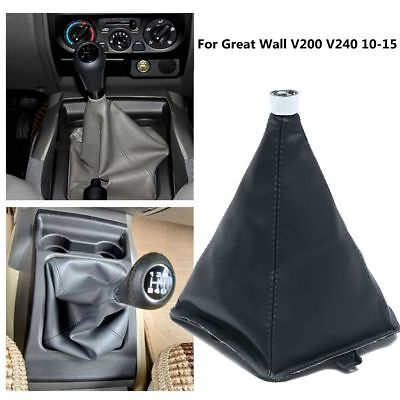 Manual Transmission PU Shift Lever Boot Cover For Great Wall V200 V240 2010-2015