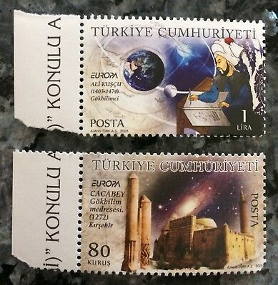 2009 EUROPA CEPT TURQUIE.             2 Timbres **