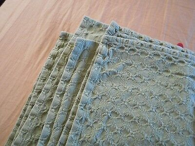 Textured Tablecloth SHABBY Cottage French Country Garden CHIC COTTON material