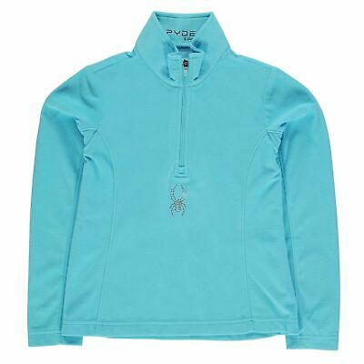 Spyder Kids Chyle Half Zip Infant Girls Thermal Baselayer Sports Long Sleeve