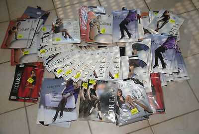 lot revendeur -  lot de 51 paires de collants / bas / leggigns