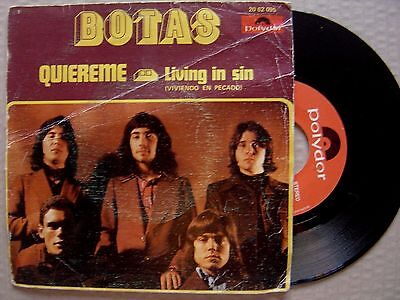 BOOTS living in without 45 POLYDOR 1973 ULTRA RARE KILLER SPANISH HARD PSYCH