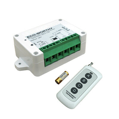 DC 12/24V Inversion Controller Wireless Remote Control Kit for Linear Actuator