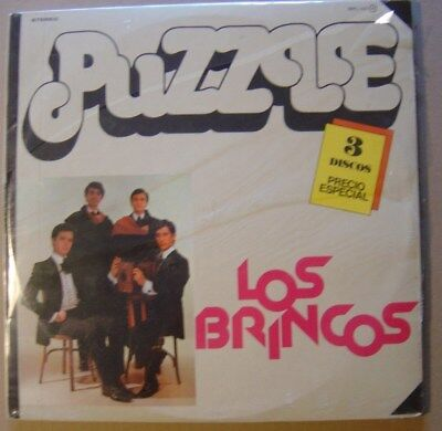 JUMPING history of the brinco TRIPLE 3xLP ORG SPAIN SAPPHIRE 1978 NEW SEALED