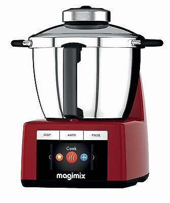 Robot Kitchen Multifunction Magimix Cook Expert Red