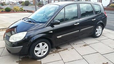 Renault Grand Scenic 2004  7 Seater in Black /57000 miles . Ready to go!!