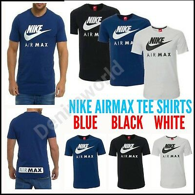 9ab98d097f NIKE NEW MEN S Air Max Logo Crew Cotton T-Shirt Tee All Size S M L ...