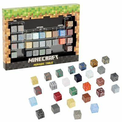 New Minecraft Periodic Table Of Elements Diamond Water Glowstone Official