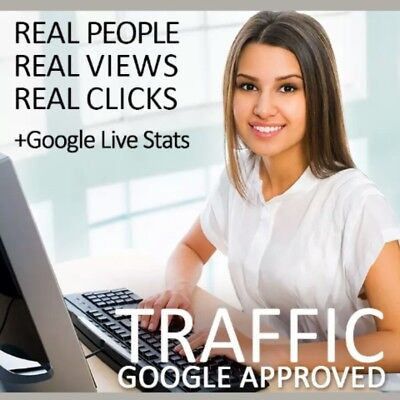 UNLIMITED 30 DAY Web Traffic Guaranteed!Super Responsive Results!USA,UK,EUROPE.