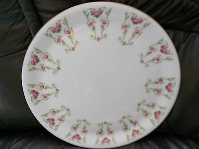 GEORGE JONES CRESCENT CHINA CHARGER/SERVING PLATE pattern 19984 (12in dia)
