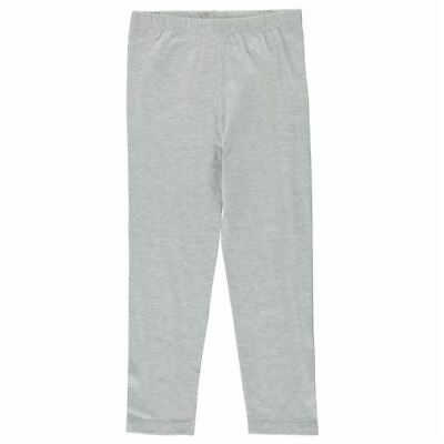 Crafted Kids Girls Basic Leggings Child Pants Trousers Bottoms Breathable