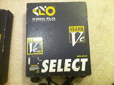 Kinoflo 4 Bank VE ballast  Model bal 405