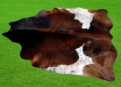 """New Cowhide Rugs Area Cow Skin Leather 22.15 sq.feet (58""""x55"""") Cow hide P-186"""