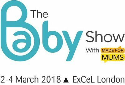 1 x THE BABY SHOW tickets - ExCel, London - valid any one day (2-4 March)