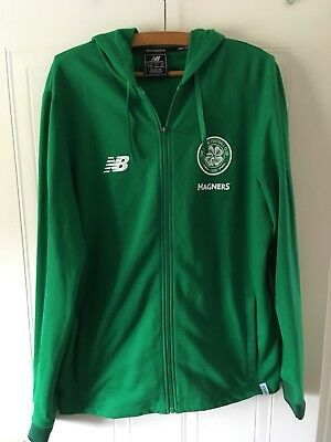 Celtic FC New Balance 2018 Hoodie Tracktop Large