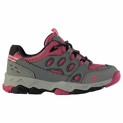 Jack Wolfskin Kids Attack 2 Low Walking Shoes Lace Up Hiking Outdoor Girls