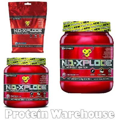 BSN NO Xplode 3.0 240g 600g 1 kg Preworkout Pre Workout Explode All 4 Flavours