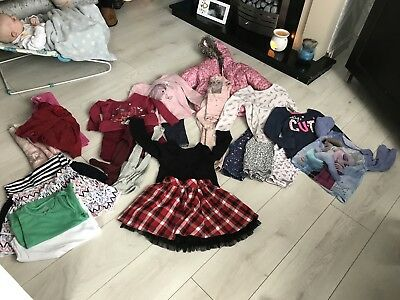 bundle of girls clothes 4-5