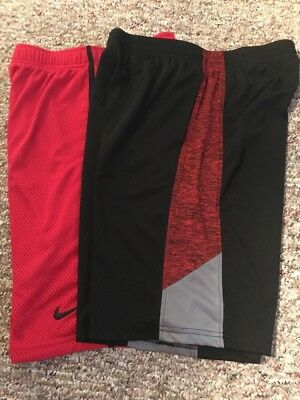 Youth Athletic Baskball Shorts L/XL Nike & Tek Gear Excellent Condition