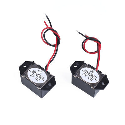 70DB Electronic Low Voltage Mechanical Vibration Buzzer DC 3V with Cable Lead