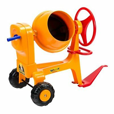 Cement Mixer With Hitch Working Rotating Drum Realistic Working Cement Mixer New