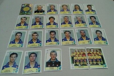 Lot Images Panini Euro 2000 Equipe Complete Suede