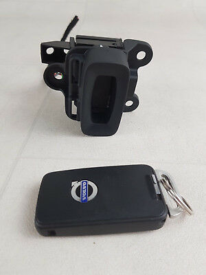 Volvo S60 P3 Mk2 10-18 Keyless Entry Ignition Lock Switch Trim + Key 28227917