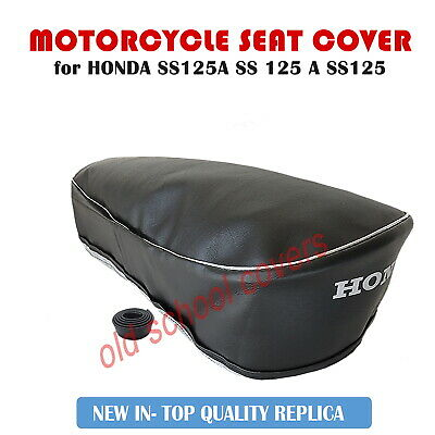 HONDA SS125A  SS 125 A SS125 MOTORCYCLE SEAT COVER with LOGO PLUS STRAP