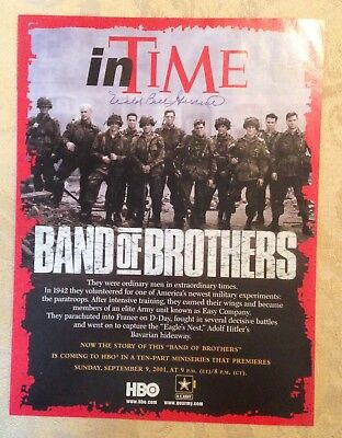 Wild Bill signed HBO In Time magazine
