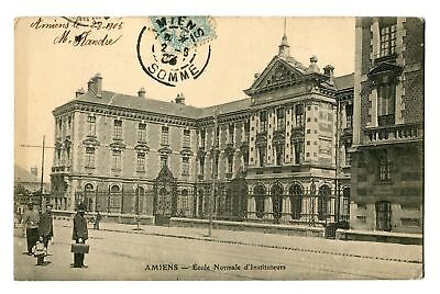 CPA-Carte postale- France - Amiens - Ecole Normale -1906 (CP171)