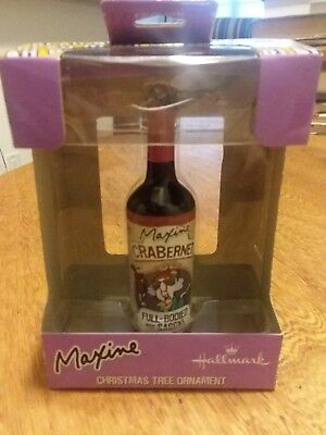 Hallmark Maxine Ornament Crabernet Full-Bodied and Sassy - New