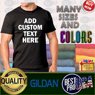 Custom T shirts your own text design many colors business Tshirt tee gift